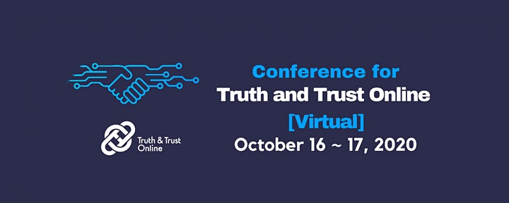 Conference For Truth And Trust Online (TTO) 2020 image