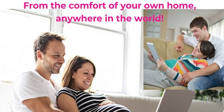 Hypnobirthing course- zoom group £195 Total (includes MP3s, folder, ebook!) tickets