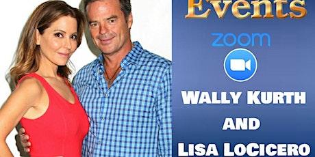Wally Kurth and Lisa LoCicero on ZOOM!- Sunday, Nov. 8th tickets