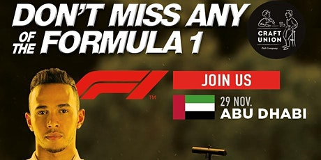 Formula 1 Live Viewing at The Pawleyne Arms tickets