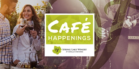 Cafe Happenings @ Spring Lake tickets
