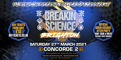 Breakin Science Brighton Poster