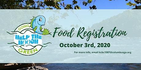 Help The Hooch Food Registration tickets