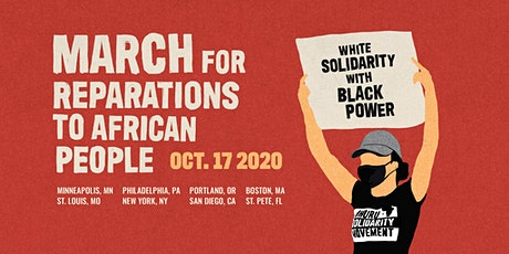 Boston CARAVAN to Philadelphia March for Reparations to African People tickets