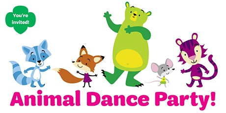 Animal Dance Party! Virtual fun for girls 1st-3rd grade! tickets
