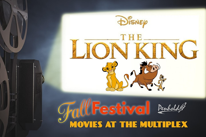 Fall Festival Movies at the Multiplex - The Lion King image