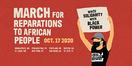 Twin Cities - March for Reparations to African People tickets
