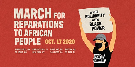 St. Louis - March for Reparations to African People tickets