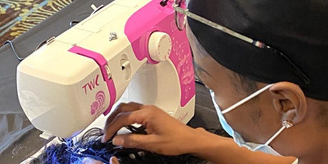Detroit MI |  Custom Enclosed Wig Making Class with Sewing Machine tickets