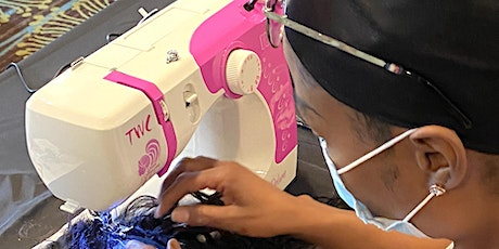 Raleigh NC | Enclosed Wig or U-Part Wig Making Class Sewing Machine tickets