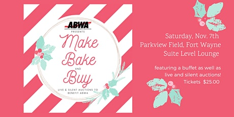 Make, Bake and Buy tickets