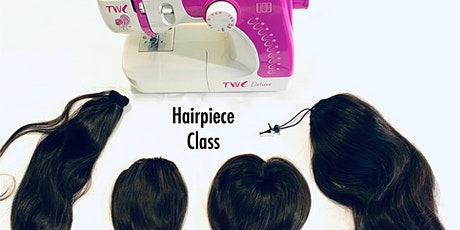 Detroit MI | Hairpiece Making Class with Sewing Machine tickets