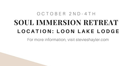 Soul Immersion Retreat tickets