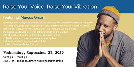 These Are Our Stories Featuring Marcus Omari tickets