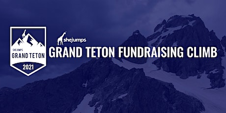 SheJumps Grand Teton Fundraising Climb 2021 tickets