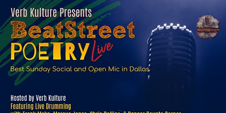 The EPIC Return of BeatStreet Poetry Live  Best Sunday Social tickets