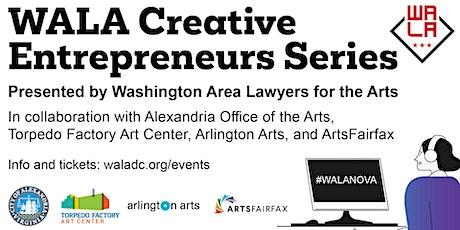 WALA Creative Entrepreneurs Series: Grants tickets