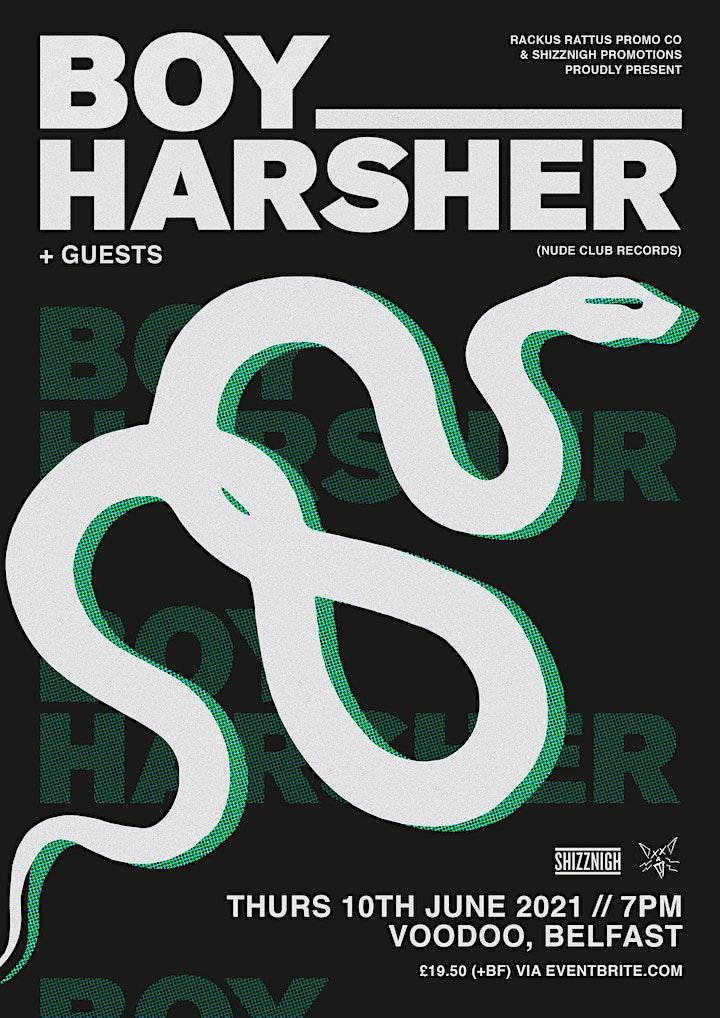Boy Harsher: Voodoo, Belfast - 10th June 2021 image