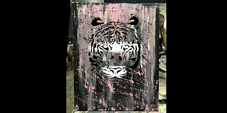 Tiger Paint and Sip Party  7.11.20 tickets