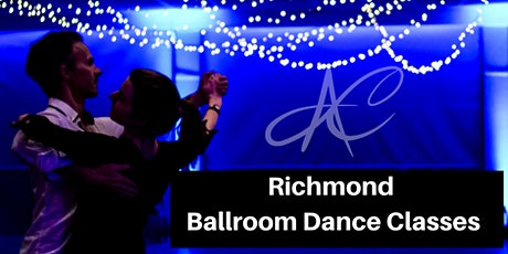 Richmond Ballroom Dance Classes for singles and couples. tickets