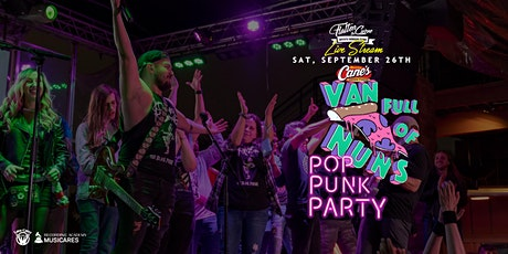 Van Full of Nuns: Pop Punk Party!  [Limited Seating & Live Stream] tickets