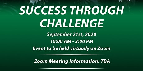 "Student Academic Success Day 2020 ""Success through Challenge"" tickets"