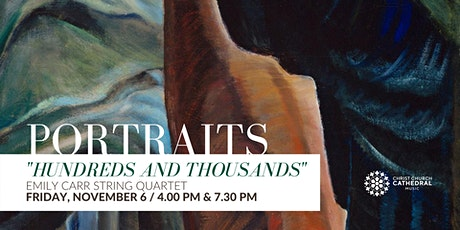 Emily Carr String Quartet - Portraits: Hundreds and Thousands (7.30 PM) billets