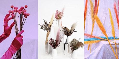 Sip and Arrange Dried Flower Workshop with Mother Wild ! @motherwildflora tickets