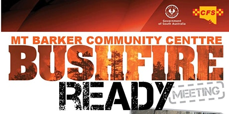 Bushfire Ready Information Session tickets
