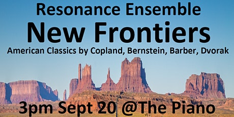 Resonance Ensemble  - New Frontiers tickets