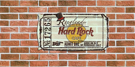 Miami Ringleader Comedy Club Hard Rock Cafe tickets