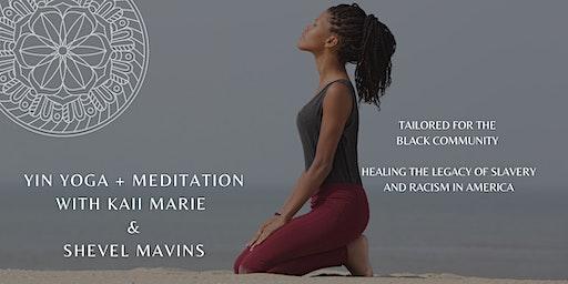 Yin Yoga + Meditatation for the Black Community