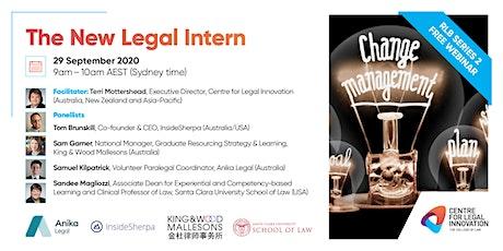 RLB 2: The New Legal Intern tickets