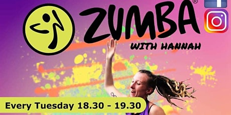 Zumba Dance Party with Hannah tickets