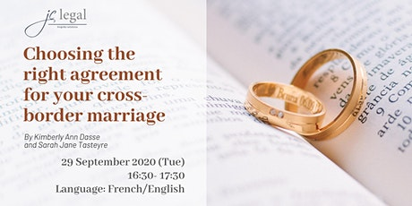 Choosing the right agreement for your cross-border marriage biglietti
