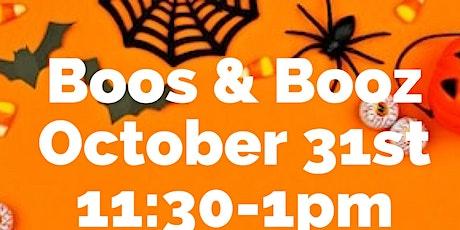 2nd Annual Boos & Booz @ Carolina Goat Yoga tickets