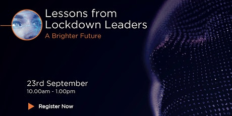Lessons from Lockdown Leaders: 20/20 Hindsight tickets
