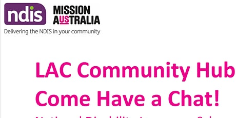 LAC Community Hub at Victoria Park Library - Come and have a chat with us! tickets