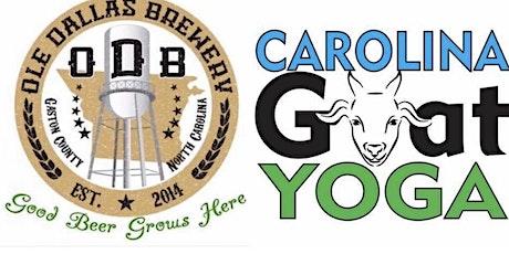 2nd Annual Event @ Ole Dallas Brewery & Carolina Goat Yoga Nov 7th tickets