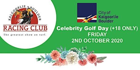 Celebrity Golf Day tickets