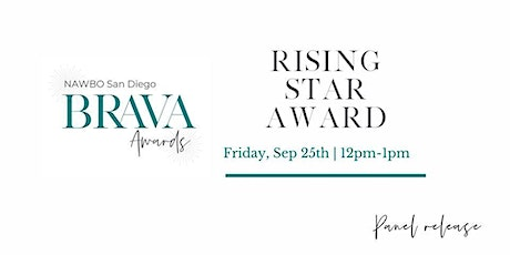 NAWBO BRAVA Awards - Rising Star Award: Show Release Event tickets