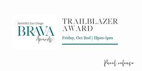 NAWBO BRAVA Awards - Trailblazer Award: Show Release Event tickets
