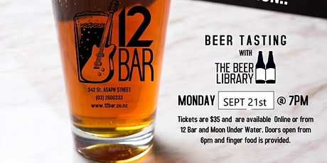 Beer Tasting with The Beer Library tickets