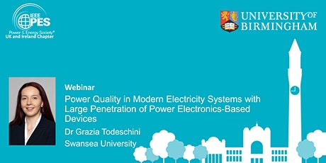 Power Quality with Large Penetration of Power Electronics-Based Devices tickets