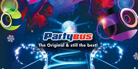 Christmas Sparkle Tour - Party Bus UK - Edinburgh tickets