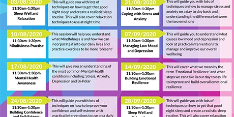 Carers Well-being Workshops tickets