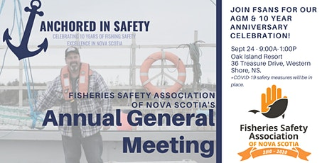 FSANS Annual General Meeting & 10 year celebration tickets