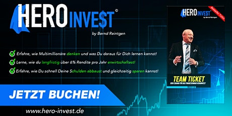 HERO-INVE$T 2021 -2-Tages-Seminar- Tickets