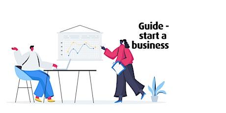 Guide - start a business | Södertörn Högskola tickets