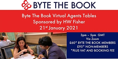 Byte The Book Virtual  Agents Tables (January 2021) Sponsored by HW Fisher tickets